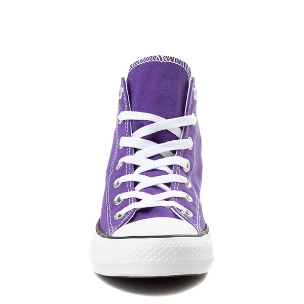 alternate image alternate view Converse Chuck Taylor All Star Hi Sneaker - Electric PurpleALT4-Edit