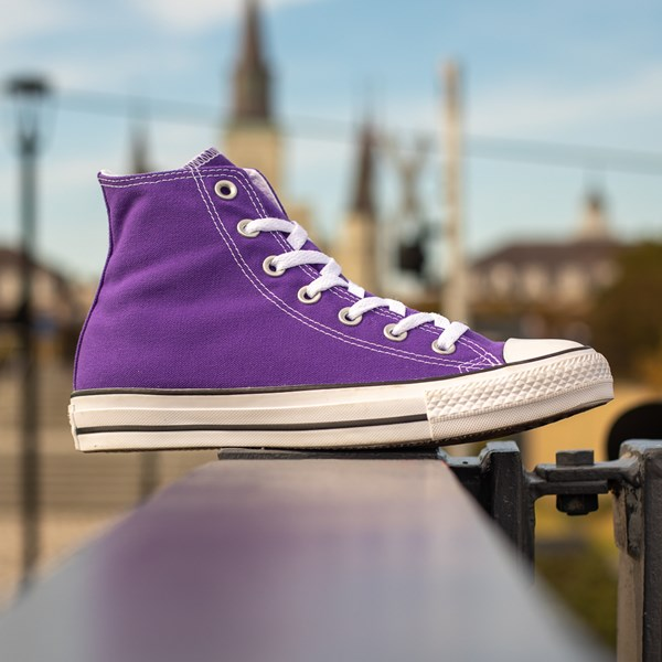 alternate image alternate view Converse Chuck Taylor All Star Hi Sneaker - Electric PurpleALT1C