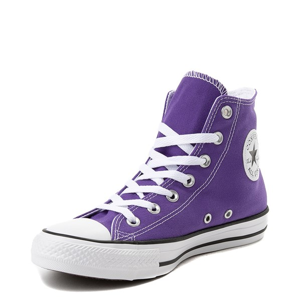 alternate image alternate view Converse Chuck Taylor All Star Hi Sneaker - Electric PurpleALT3