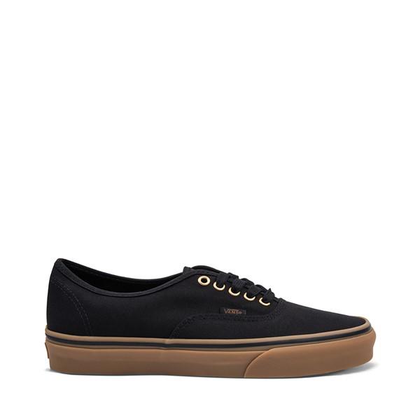 Main view of Vans Authentic Skate Shoe - Black / Gum