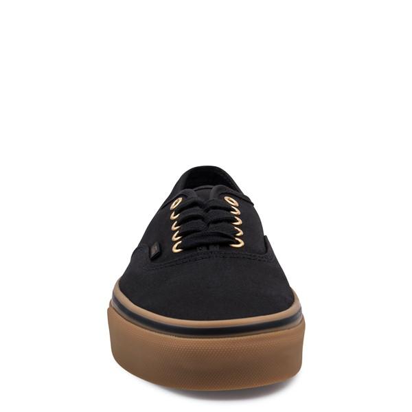 alternate image alternate view Vans Authentic Skate Shoe - Black / GumALT4