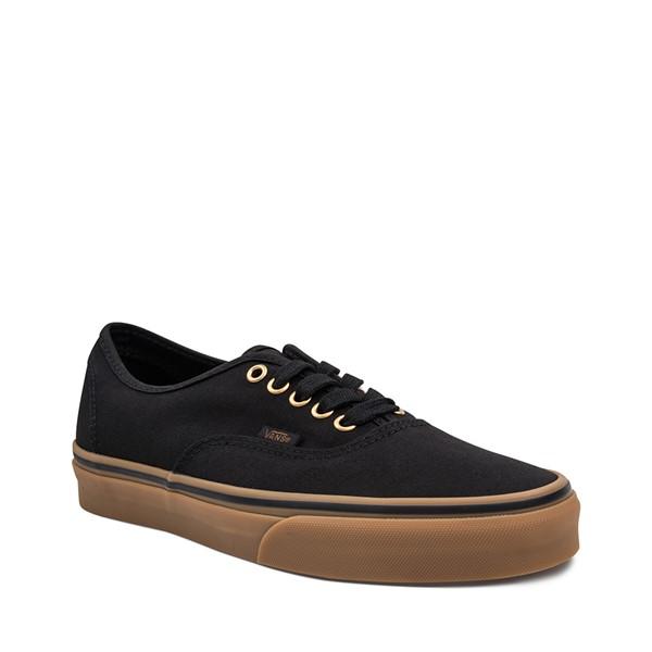 alternate image alternate view Vans Authentic Skate Shoe - Black / GumALT5