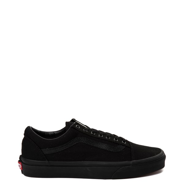 Vans Old Skool Skate Shoe - Black Monochrome