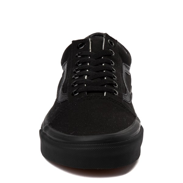 alternate image alternate view Vans Old Skool Skate Shoe - Black MonochromeALT4