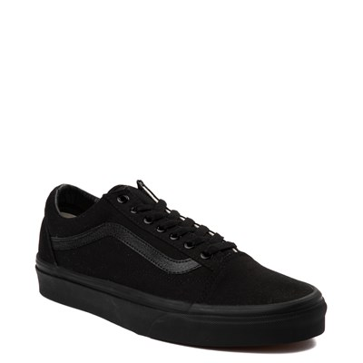 Alternate view of Vans Old Skool Skate Shoe - Black Monochrome