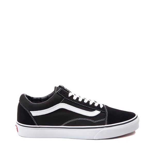 Main view of Vans Old Skool Skate Shoe - Black / White