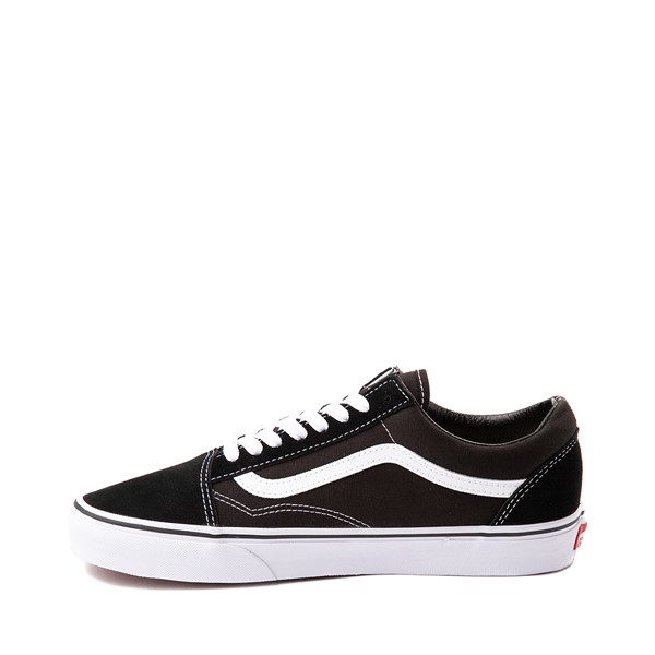alternate image alternate view Vans Old Skool Skate Shoe - Black / WhiteALT1