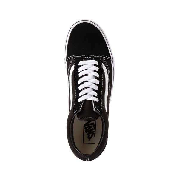 alternate image alternate view Vans Old Skool Skate Shoe - Black / WhiteALT2