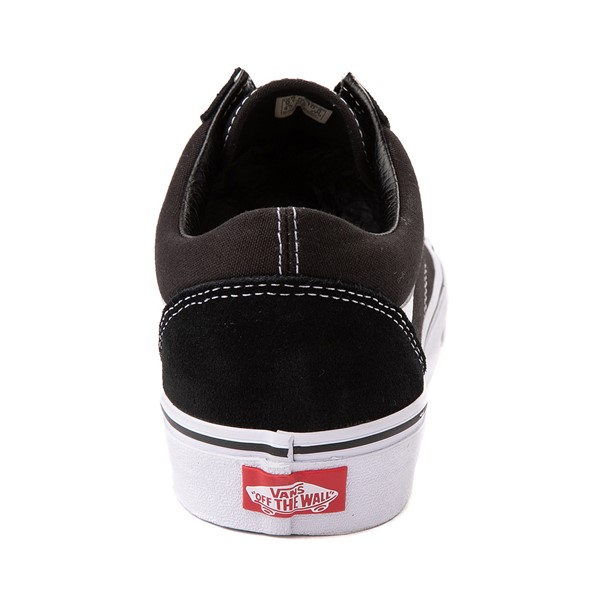 alternate image alternate view Vans Old Skool Skate Shoe - Black / WhiteALT4