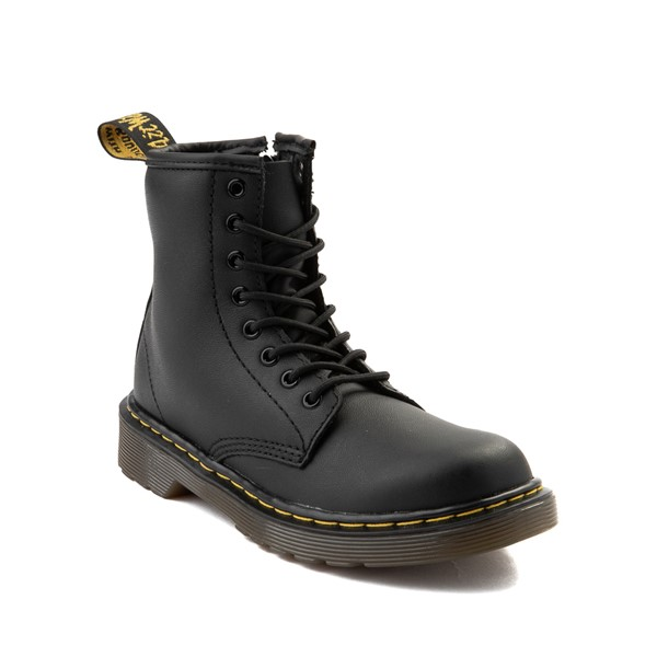 alternate image alternate view Dr. Martens 1460 8-Eye Boot - Little Kid / Big Kid - BlackALT5