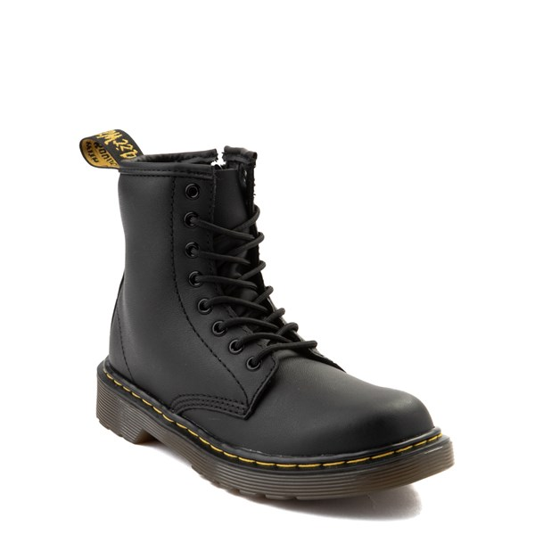 alternate image alternate view Dr. Martens 1460 8-Eye Boot - Little Kid / Big Kid - BlackALT1