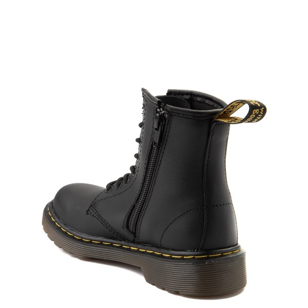 alternate image alternate view Dr. Martens 1460 8-Eye Boot - Little Kid / Big Kid - BlackALT2