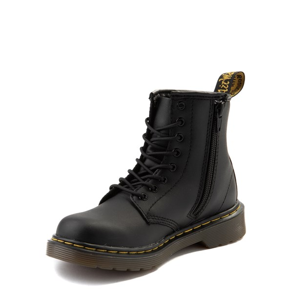 alternate image alternate view Dr. Martens 1460 8-Eye Boot - Little Kid / Big Kid - BlackALT3