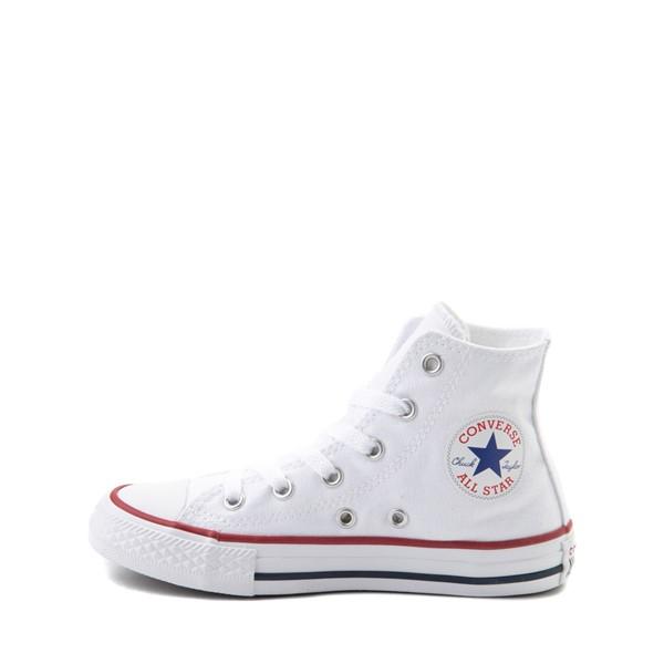 alternate image alternate view Converse Chuck Taylor All Star Hi Sneaker - Little Kid - Optic WhiteALT1