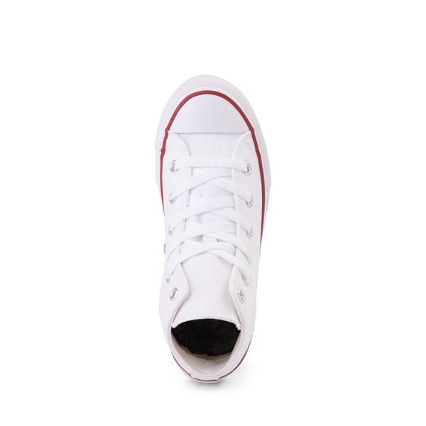 alternate image alternate view Converse Chuck Taylor All Star Hi Sneaker - Little Kid - Optic WhiteALT2