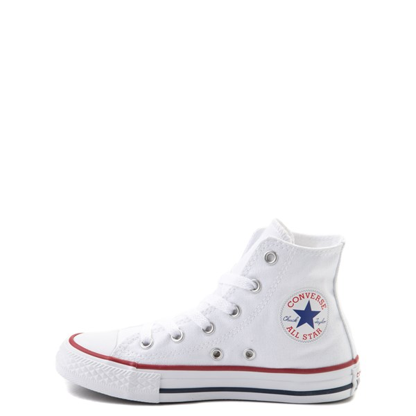 alternate image alternate view Converse Chuck Taylor All Star Hi Sneaker - Little Kid - Optic WhiteALT1