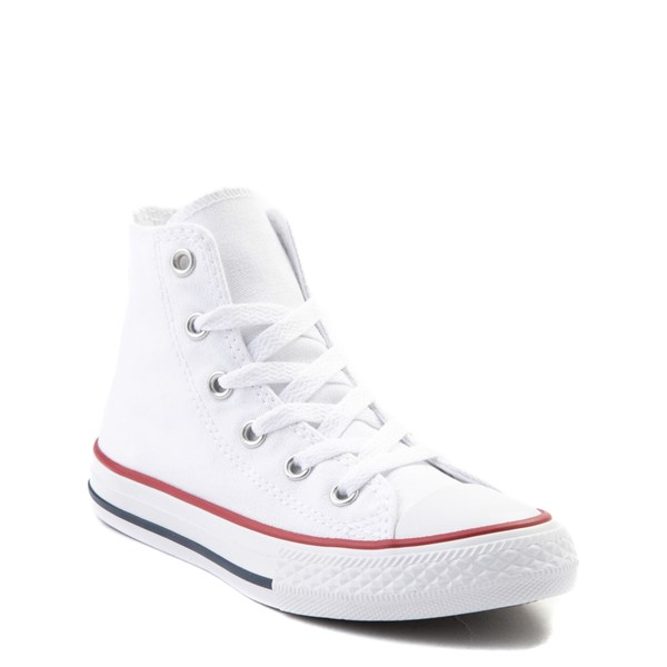 alternate image alternate view Converse Chuck Taylor All Star Hi Sneaker - Little Kid - Optic WhiteALT1B
