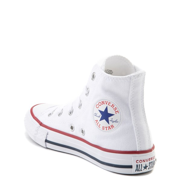 alternate image alternate view Converse Chuck Taylor All Star Hi Sneaker - Little Kid - Optic WhiteALT2