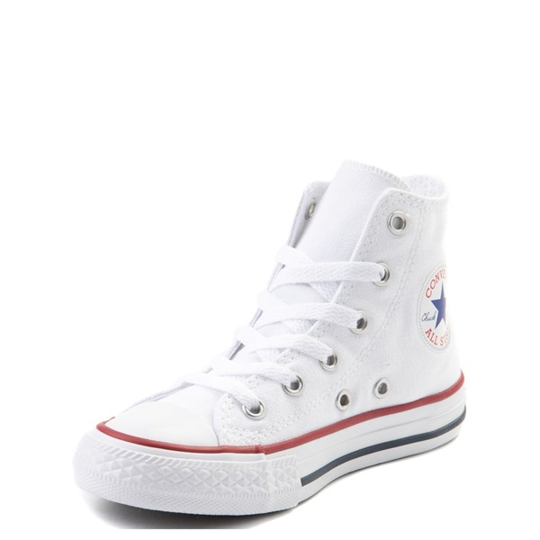 alternate image alternate view Converse Chuck Taylor All Star Hi Sneaker - Little Kid - Optic WhiteALT3