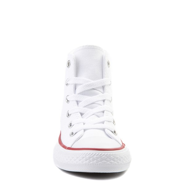 alternate image alternate view Converse Chuck Taylor All Star Hi Sneaker - Little Kid - Optic WhiteALT4