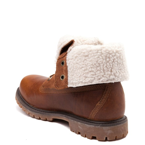 alternate image alternate view Womens Timberland Fleece Roll Down BootALT2