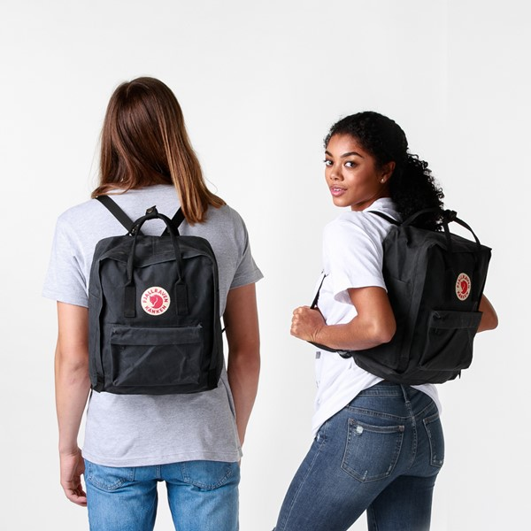 alternate image alternate view Fjallraven Kanken Backpack - BlackALT1BADULT