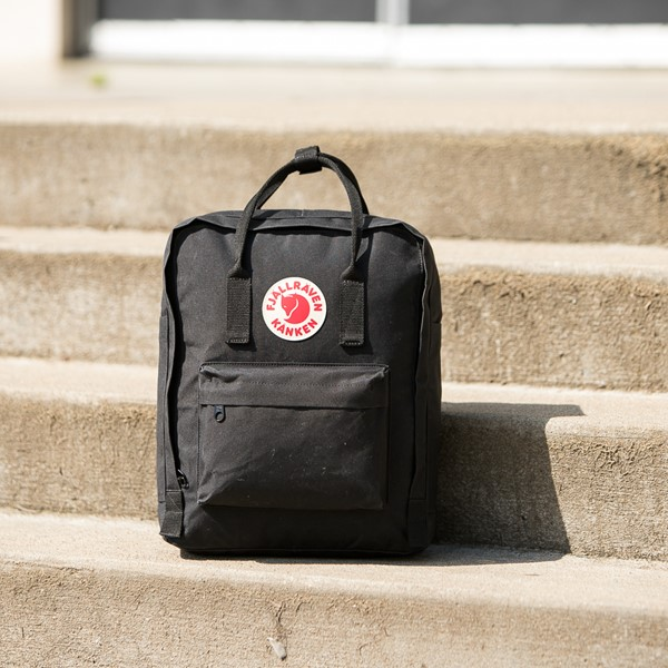 alternate image alternate view Fjallraven Kanken Backpack - BlackALT1BB