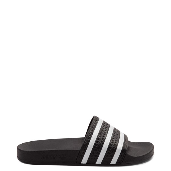 Main view of adidas Adilette Athletic Sandal - Black / White