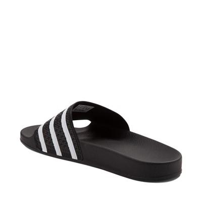 Alternate view of adidas Adilette Athletic Sandal - Black / White