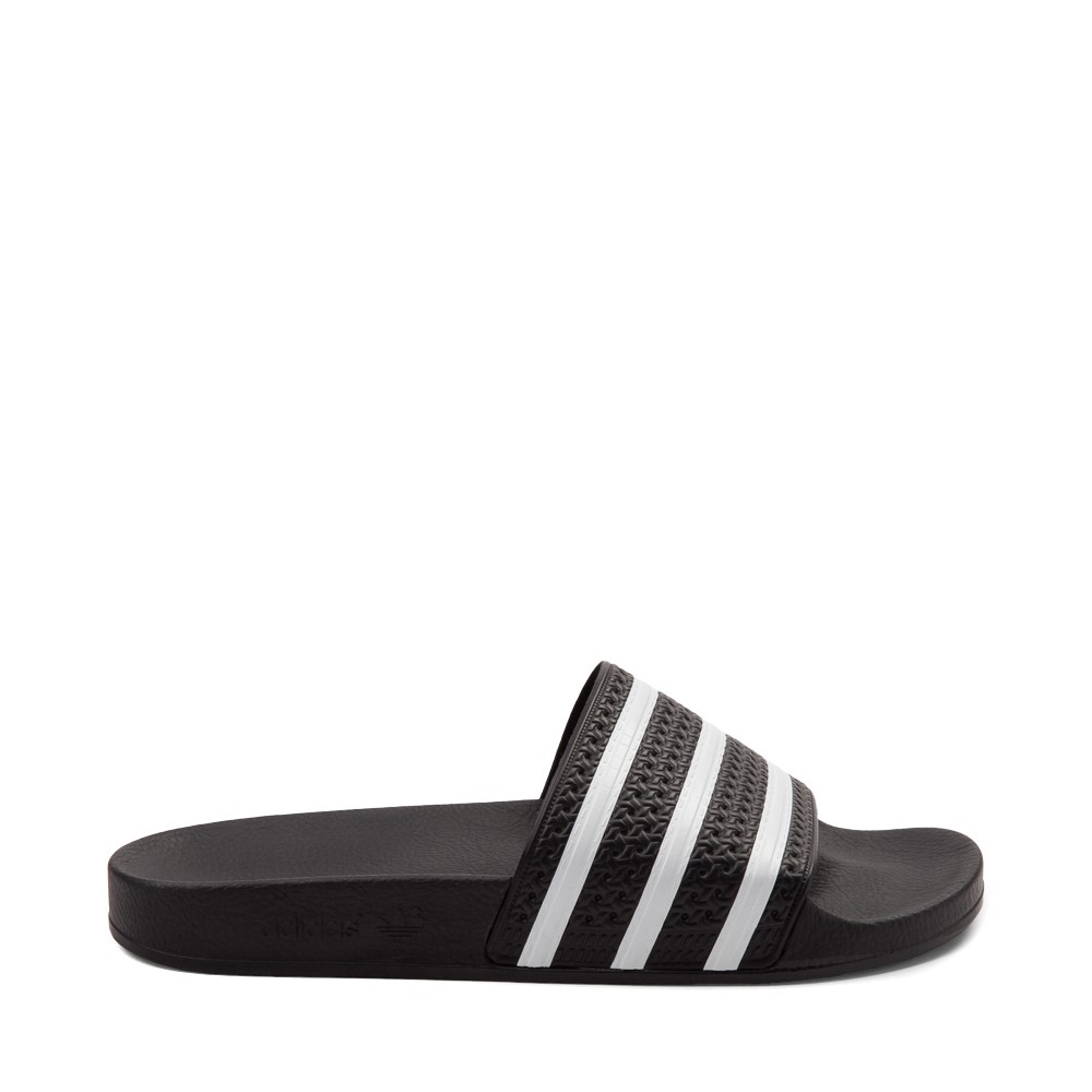 adidas Adilette Athletic Sandal - Black / White