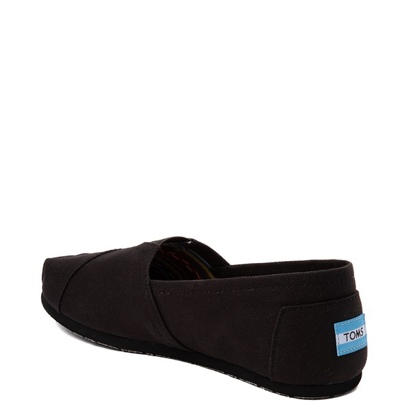 alternate image alternate view Mens TOMS Classic Slip On Casual Shoe - BlackALT2