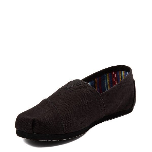 alternate image alternate view Mens TOMS Classic Slip On Casual Shoe - BlackALT3