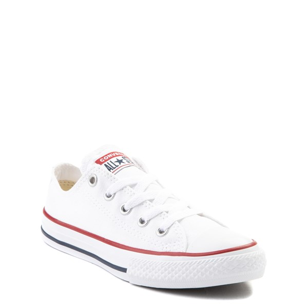 alternate image alternate view Converse Chuck Taylor All Star Lo Sneaker - Toddler / Little Kid - Optic WhiteALT1