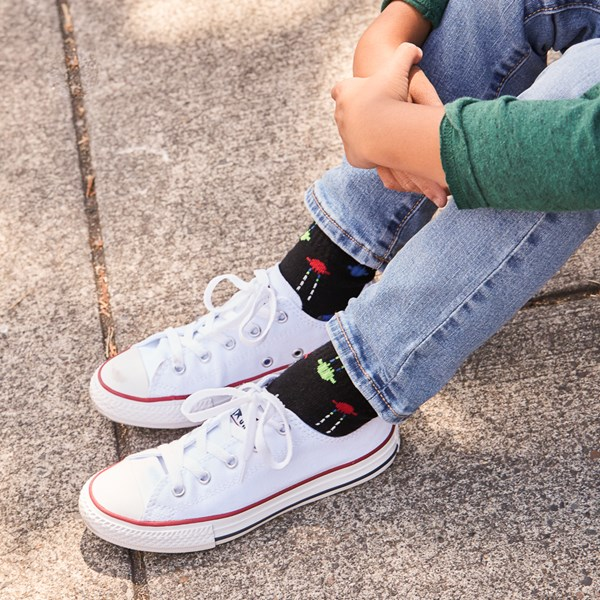 alternate image alternate view Converse Chuck Taylor All Star Lo Sneaker - Toddler / Little Kid - Optic WhiteALT1B