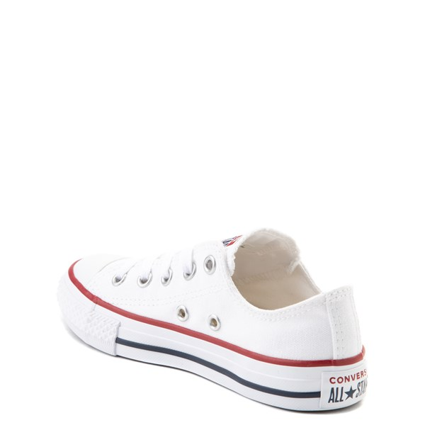 alternate image alternate view Converse Chuck Taylor All Star Lo Sneaker - Toddler / Little Kid - Optic WhiteALT2