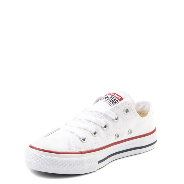 alternate image alternate view Converse Chuck Taylor All Star Lo Sneaker - Toddler / Little Kid - Optic WhiteALT3