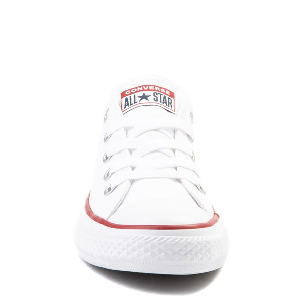 alternate image alternate view Converse Chuck Taylor All Star Lo Sneaker - Toddler / Little Kid - Optic WhiteALT4