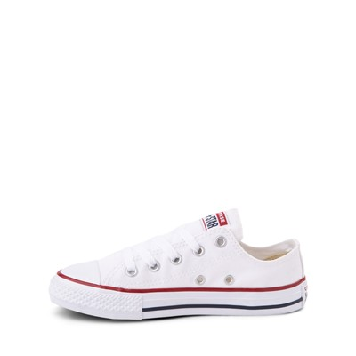 Alternate view of Converse Chuck Taylor All Star Lo Sneaker - Toddler / Little Kid - Optic White