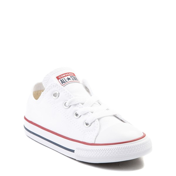 alternate image alternate view Converse Chuck Taylor All Star Lo Sneaker - Baby / Toddler - Optic WhiteALT1
