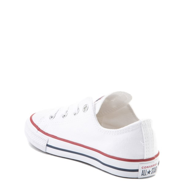 alternate image alternate view Converse Chuck Taylor All Star Lo Sneaker - Baby / Toddler - Optic WhiteALT2