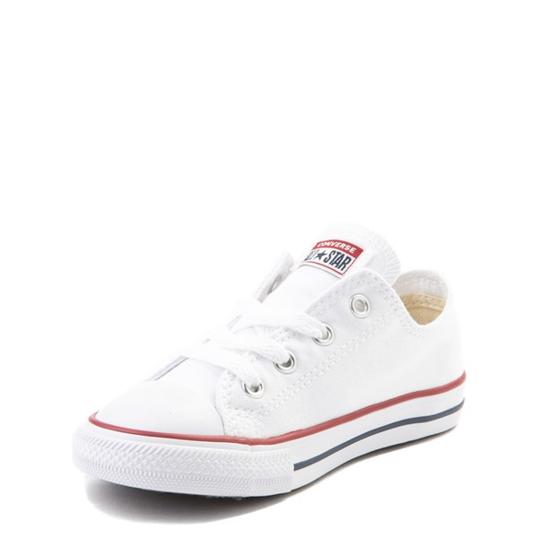 alternate image alternate view Converse Chuck Taylor All Star Lo Sneaker - Baby / Toddler - Optic WhiteALT3