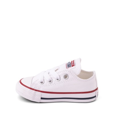 Alternate view of Converse Chuck Taylor All Star Lo Sneaker - Baby / Toddler - Optic White