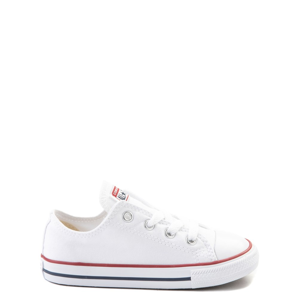 Converse Chuck Taylor All Star Lo Sneaker - Baby / Toddler - Optic White