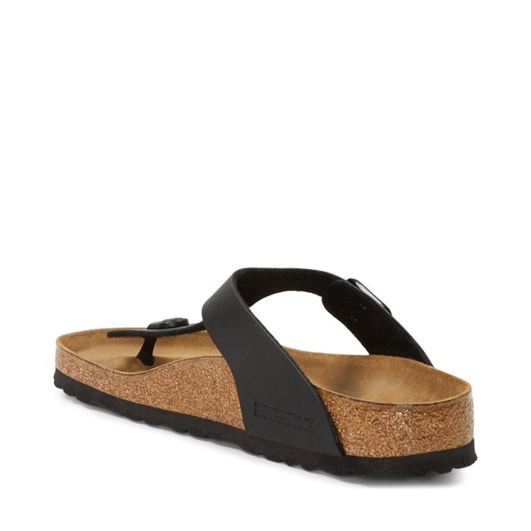 alternate image alternate view Womens Birkenstock Gizeh Sandal - BlackALT1