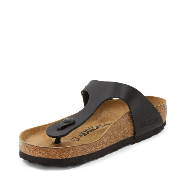 alternate image alternate view Womens Birkenstock Gizeh Sandal - BlackALT2