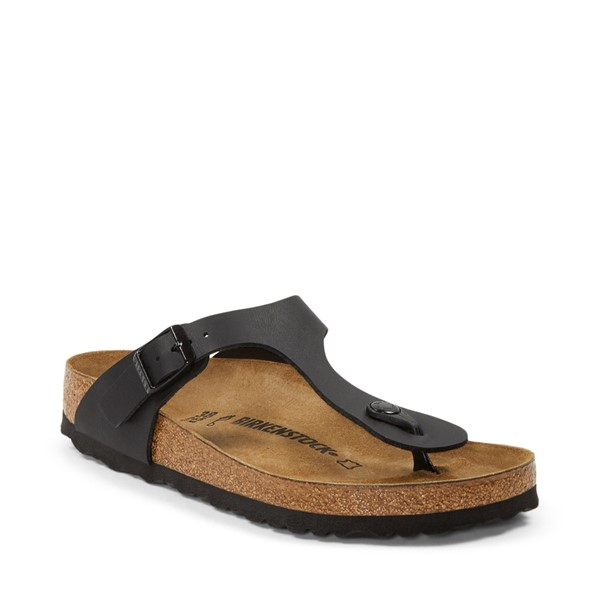 alternate image alternate view Womens Birkenstock Gizeh Sandal - BlackALT5