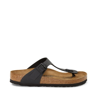 Main view of Womens Birkenstock Gizeh Sandal - Black