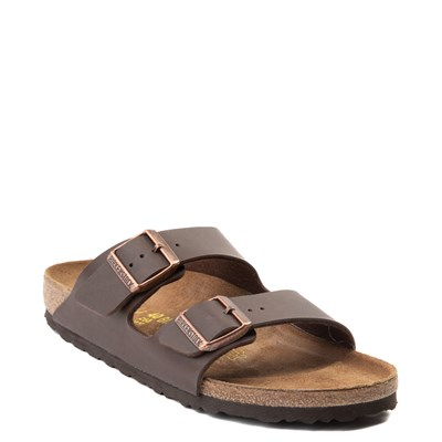 Alternate view of Womens Birkenstock Arizona Sandal - Brown