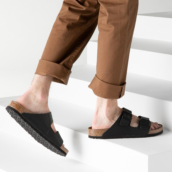 alternate image alternate view Mens Birkenstock Arizona Sandal - BlackB-LIFESTYLE1