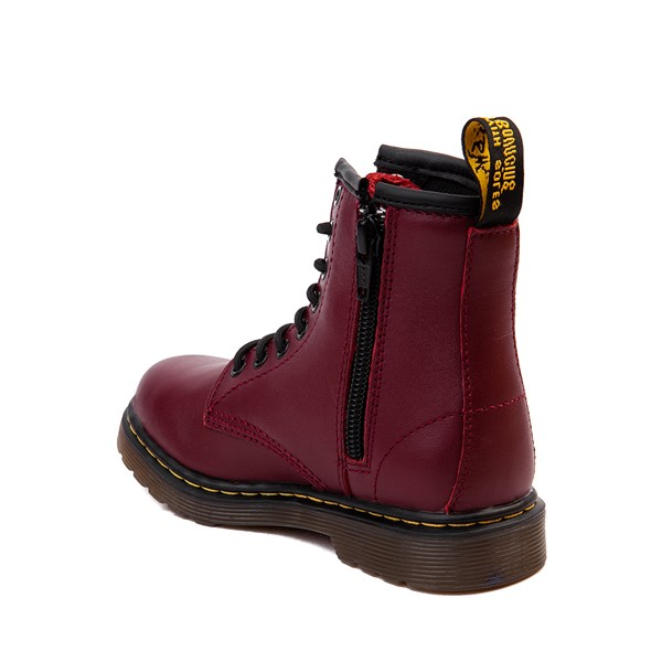 alternate image alternate view Dr. Martens 1460 8-Eye Boot - Little Kid / Big Kid - CherryALT1
